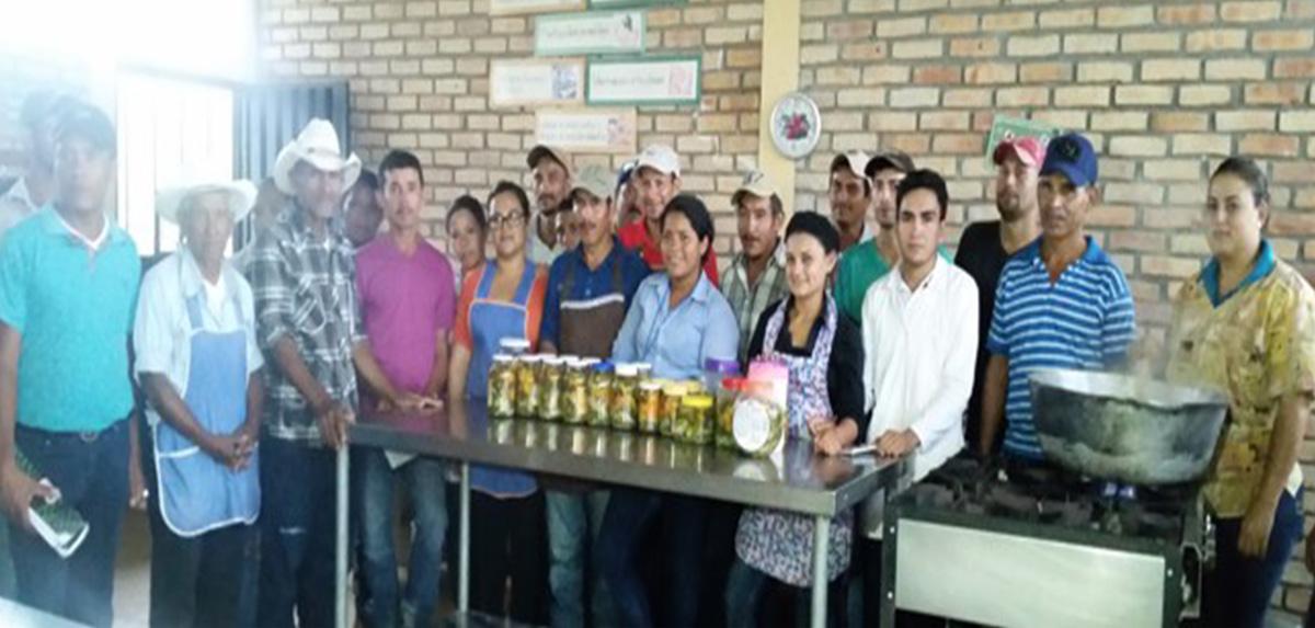 Taller de envasado y procesado de alimento_Occidente_Honduras_2018