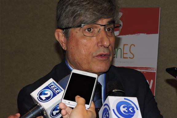 Medios de comunicación entrevista a Embajador de España en El Salvador, Federico del Torres Muro