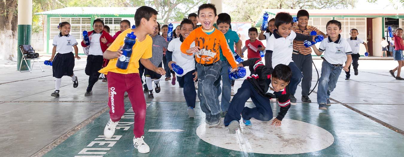 Renovación Escuela Sociodeportiva Aerogubiños México