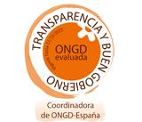Sello Transparencia y Buen Gobierno CONGDE