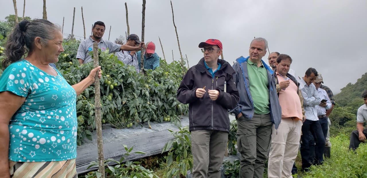 Visita de la delegación de España_occidente_Honduras_2018