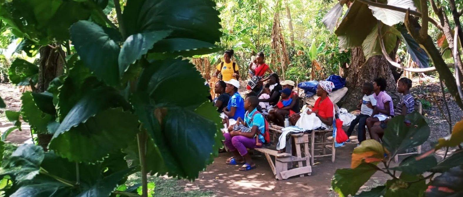 Programa de intervención COVID19 en Haití