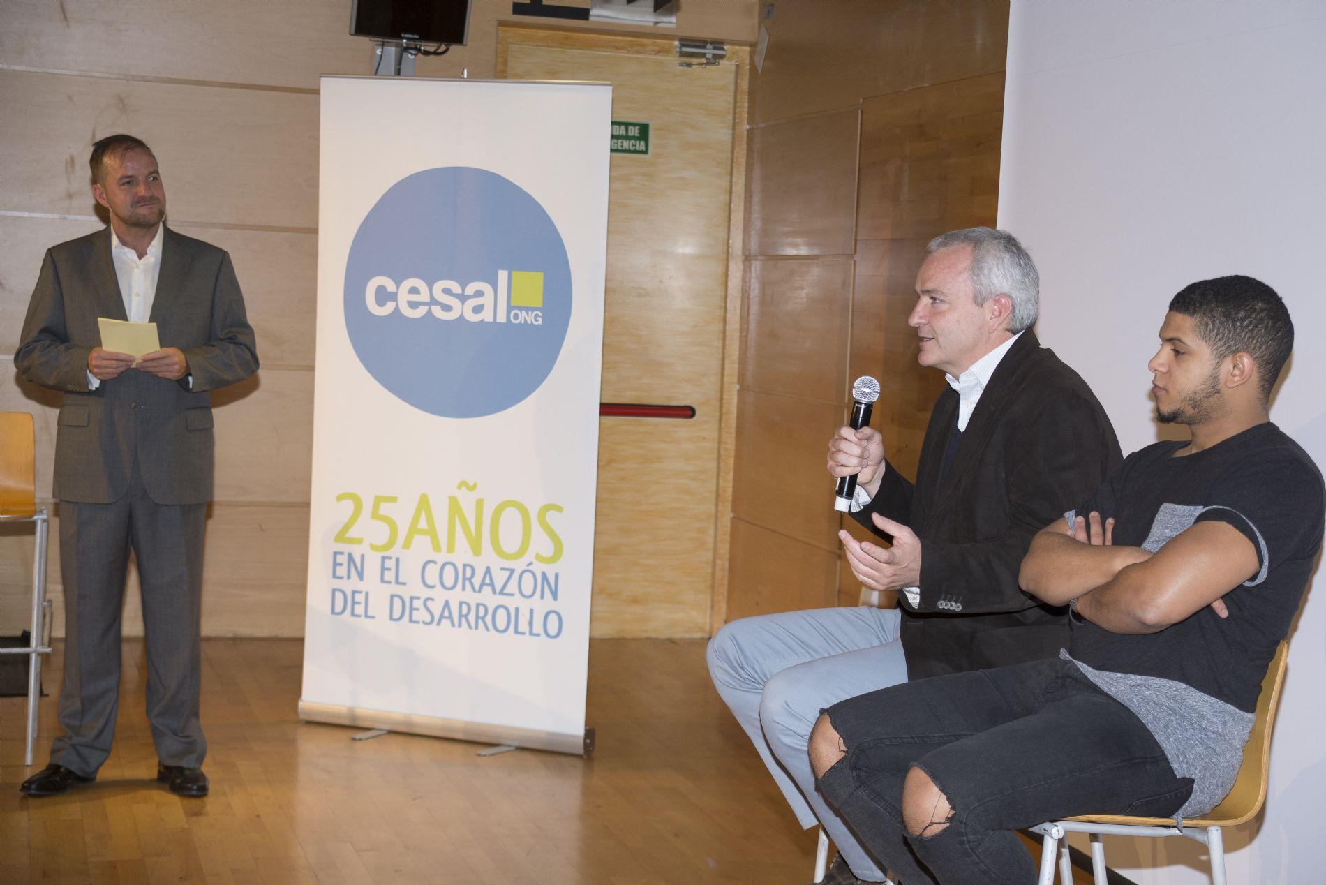 Ashraf Pablo Llano Jóvenes CESAL