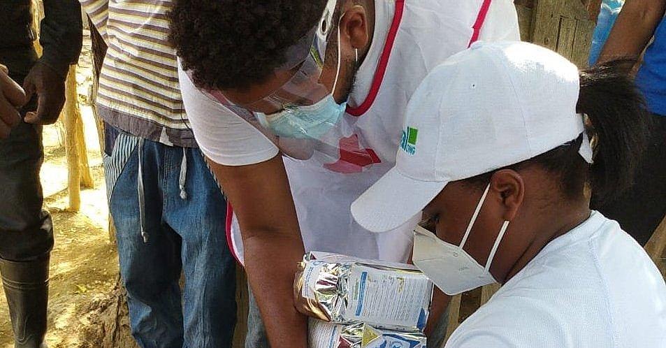 coronavirus. emergencia, CESAL, dona, alimentos, salud
