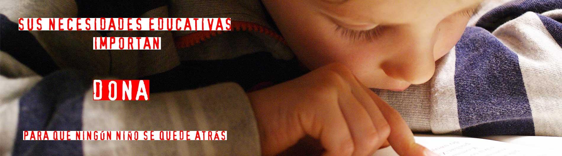 coronavirus infancia educación pobreza cesal dona