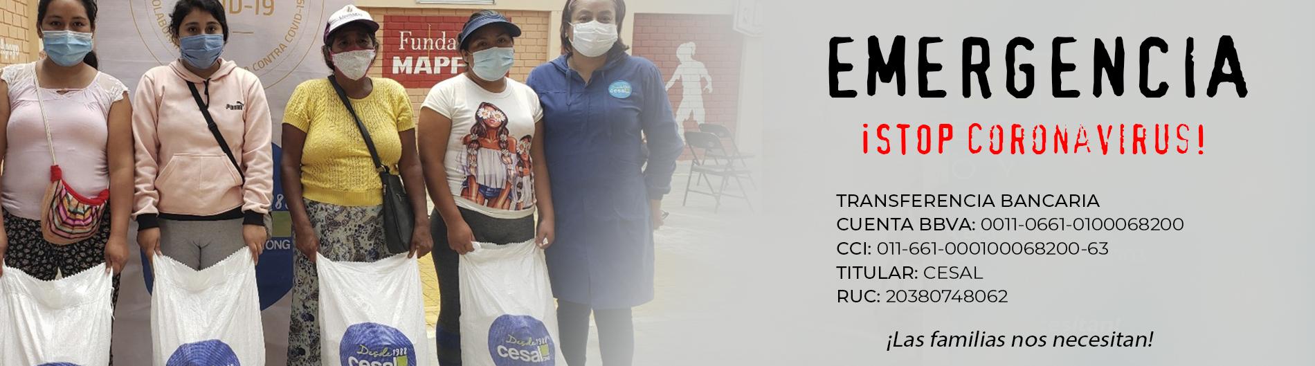 Campaña Stop Coronavirus