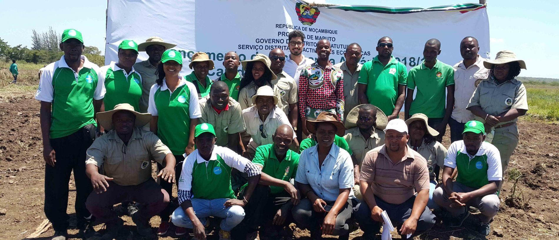 CESAL SE UNE AL LANZAMIENTO DE LA CAMPAÑA AGRARIA EN MOZAMBIQUE