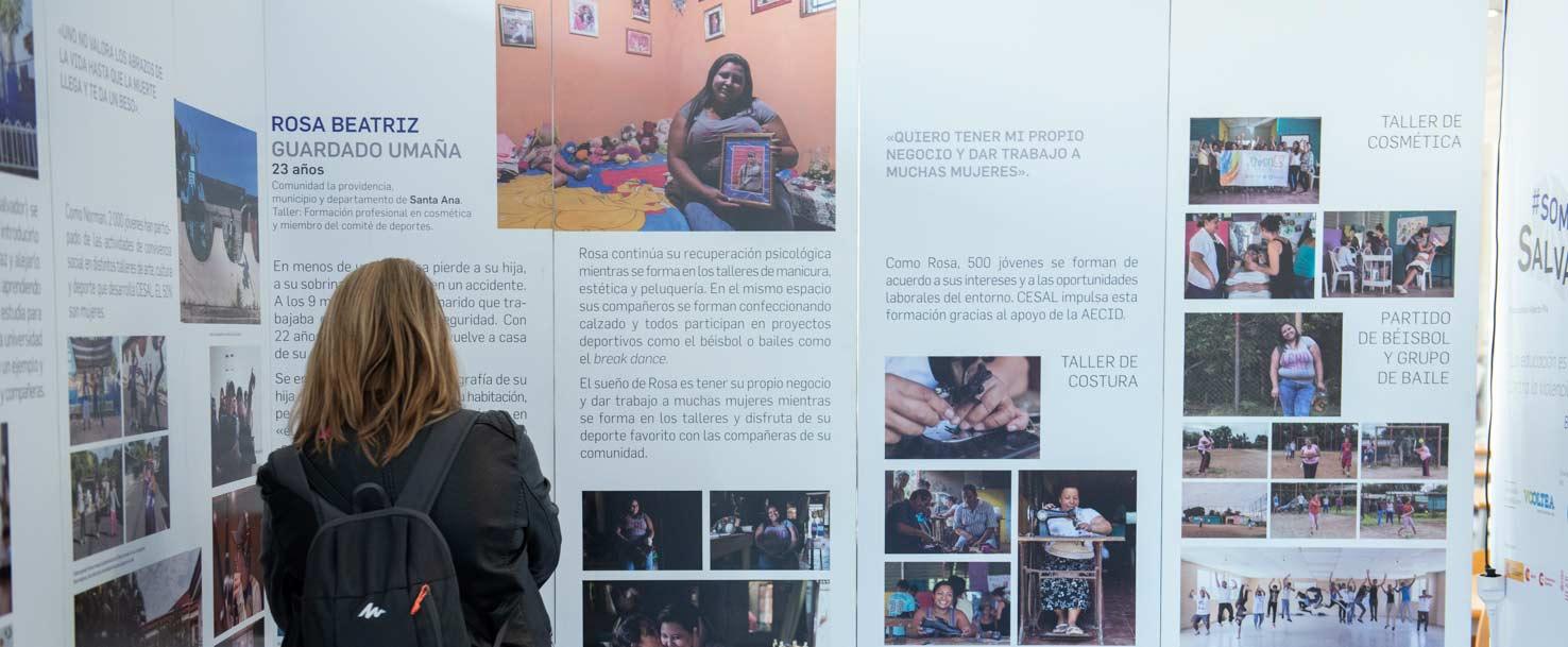 #SOMOSSALVADOR YA CONCIENCIA SOBRE EL PODER DE LA EDUCACIÓN EN LA CIUDAD DE VALENCIA