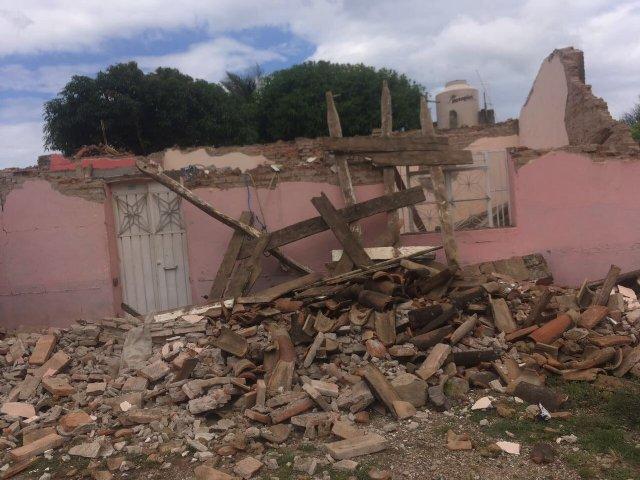 Destrucción en México Terremoto 2