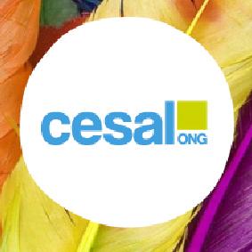 Logo CESAL Blanco