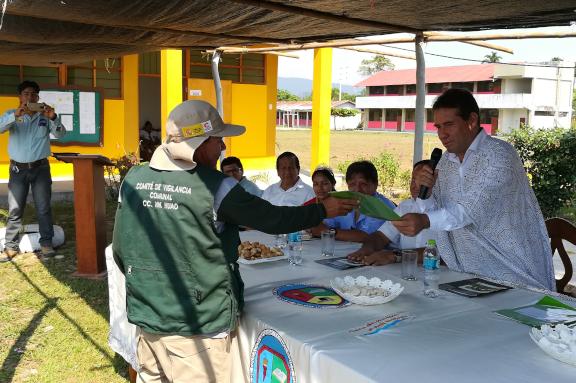 Imágen de nuestro trabajo en Ucayali