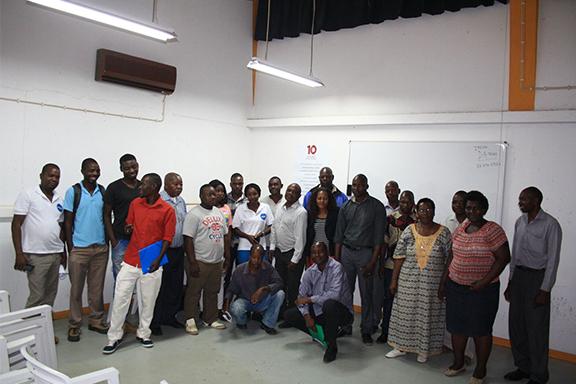 Proyecto Construir Futuro en Mozambique.