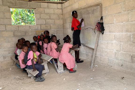 Sistematización sobre el sector y la calidad educativa en Haití