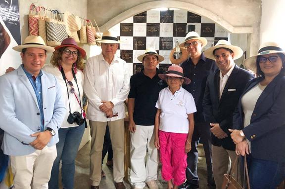 El Gobierno ecuatoriano visita el proyecto ´Tejiendo Redes´ de CESAL