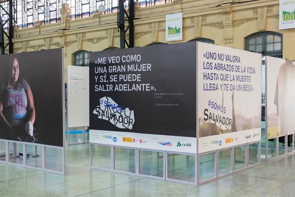 Exposición #SomosSalvador