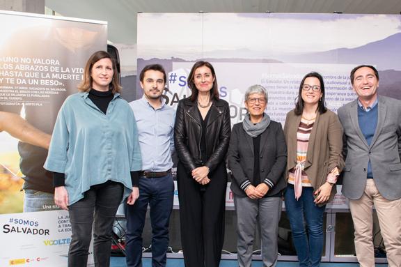 Exposición #SomosSalvador en la Casa del Alumno de la Universidad Politécnica de Valencia