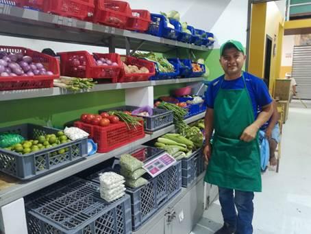 Beneficiario proyecto Ecuador