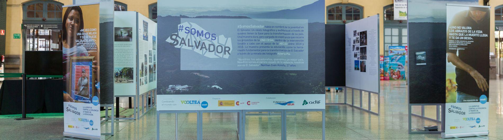 Exposición Somos Salvador