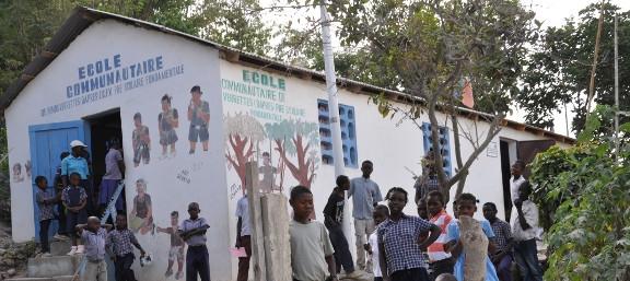 Escuela Haití