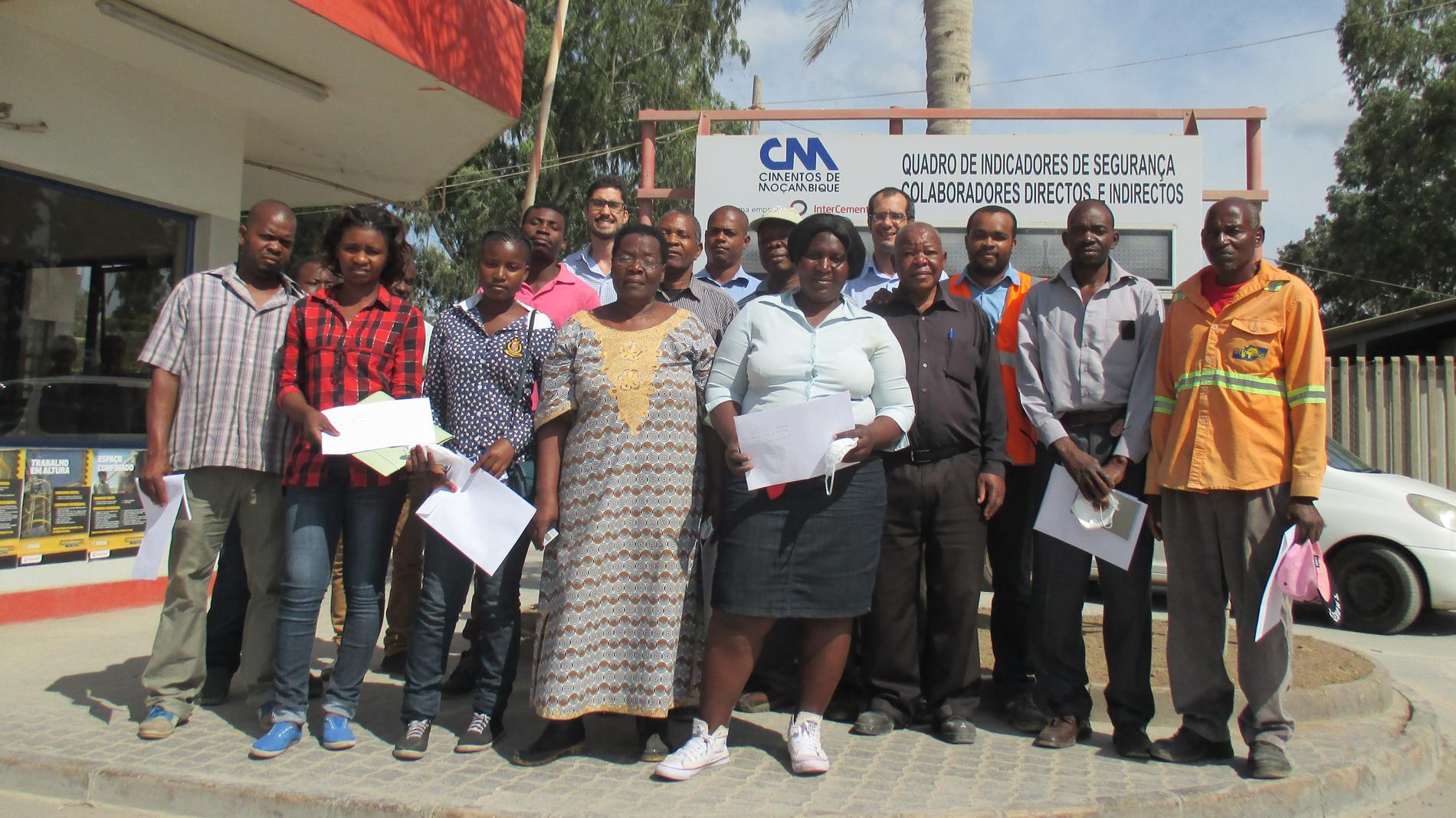 CESAL trabajo con pequeños productores de cemento