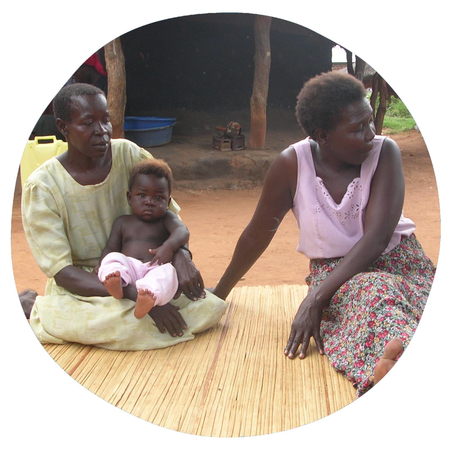Mujeres sida uganda