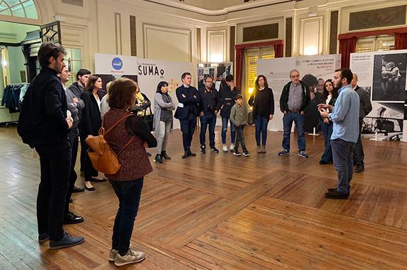 Exposición Mira con sus ojos de la ONG CESAL en Encuentro Castellón