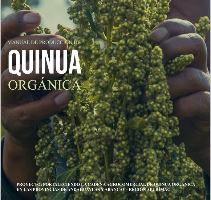 Manual de producción de quinua orgánica