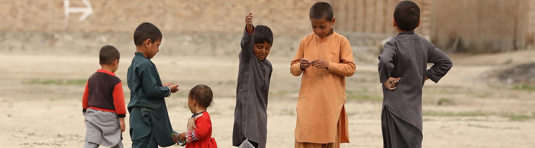 Refugiados afganos CESAL