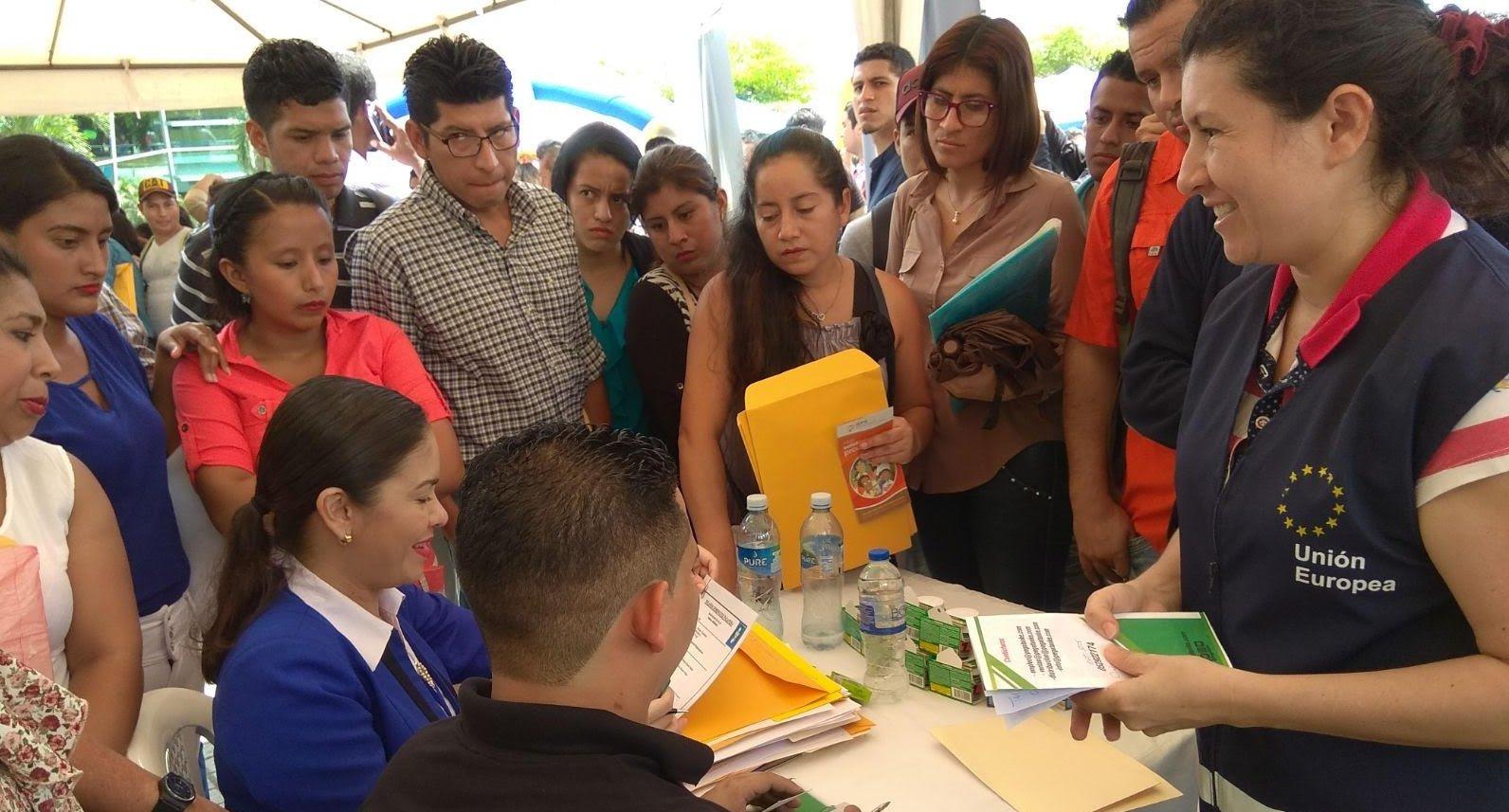 beneficiarios proyecto Ecuador